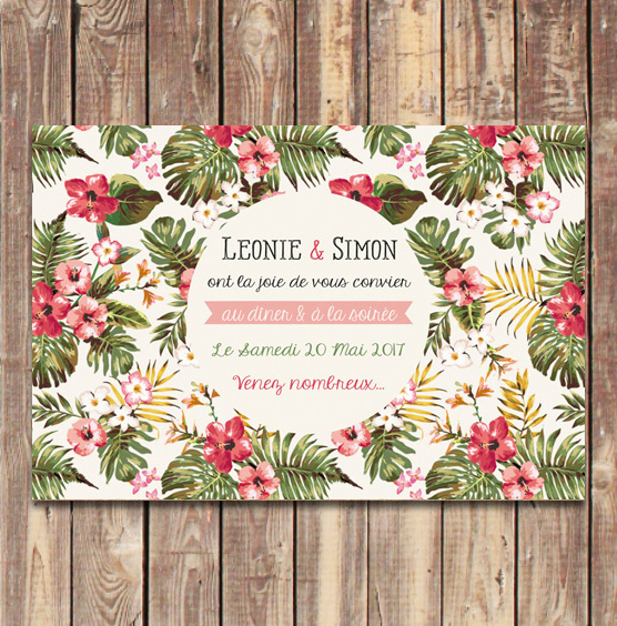 coupon-invitation-diner-fleur-tropique